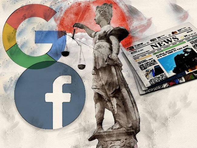 facebook y google pagan