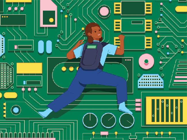 mujeres en la educacion digital