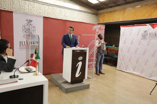 Armando Cabada, ahora Presidente Municipal de Ciudad Juárez con licencia.